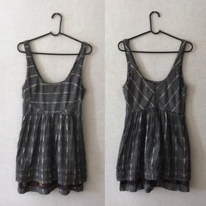 Free People New Romantics Weather Vane Ikat Dress